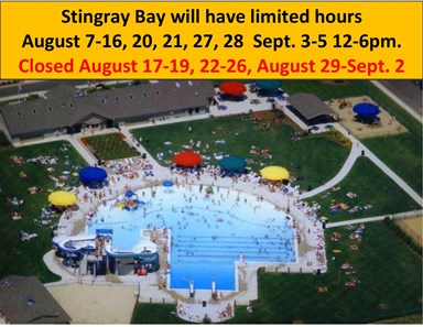 Limited Stingray Bay Hours