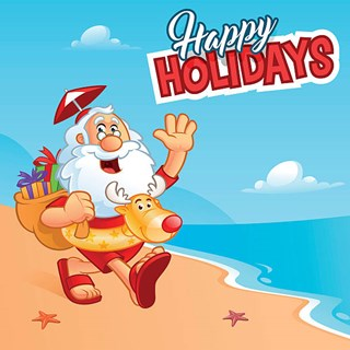 Christmas In July Santa Clipart.Stingray Bay Christmas In July Pool Party Huntley Park