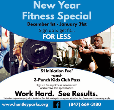 New Year Fitness Special