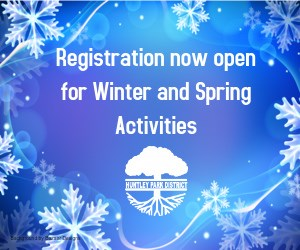 Register now for Winter and spring Activities